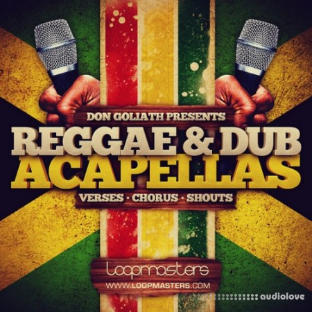 Loopmasters Don Goliath Reggae Dub Acapellas MULTiFORMAT