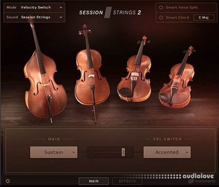 Native Instruments Session Strings 2 v1.0 KONTAKT