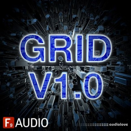 F9 Audio 80s Future Retro Grid v1.4 MULTiFORMAT