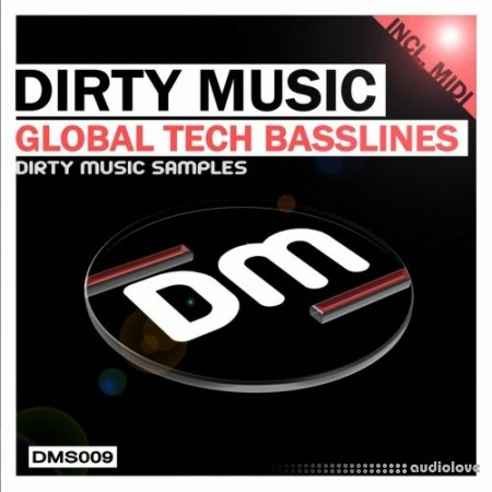 Dirty Music Global Tech Basslines WAV MiDi