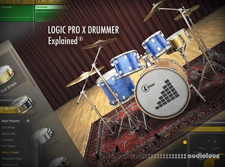logic pro x how to work with drummer