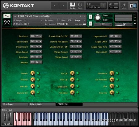 Replika Sound Chorus Guitar KONTAKT