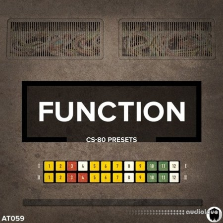 Audiotent Function CS-80 Presets Synth Presets WAV