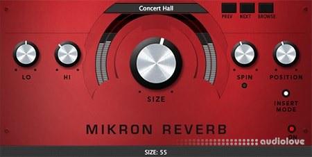 112dB Mikron Reverb v1.0.0 WiN