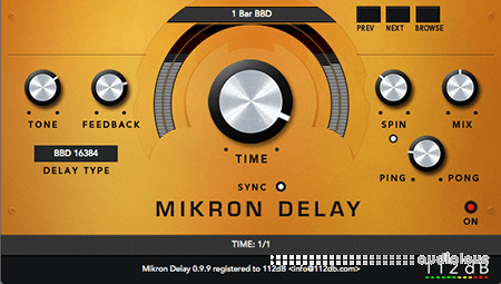 112dB Mikron Delay v1.0.4 WiN