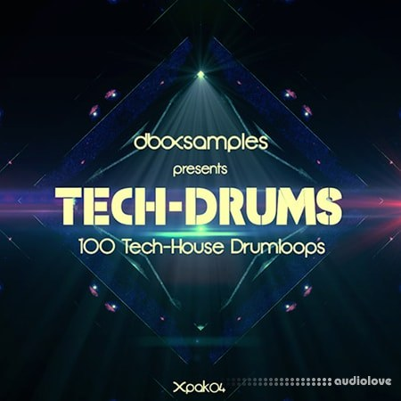 dboxsamples Tech Drums MULTiFORMAT