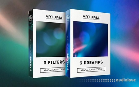 Arturia 3 Preamps and Filters v1.0.0 MacOSX