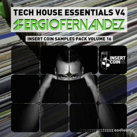 Insert Coin Tech House Essentials V4 Sergio Fernande WAV