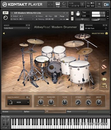 Native Instruments Abbey Road Modern Drummer v1.3 KONTAKT