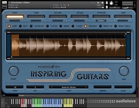 Zero-G Inspiring Guitars KONTAKT