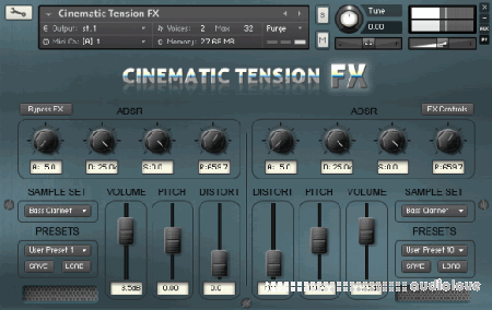 Sampleism Cinematic Tension FX 1 KONTAKT