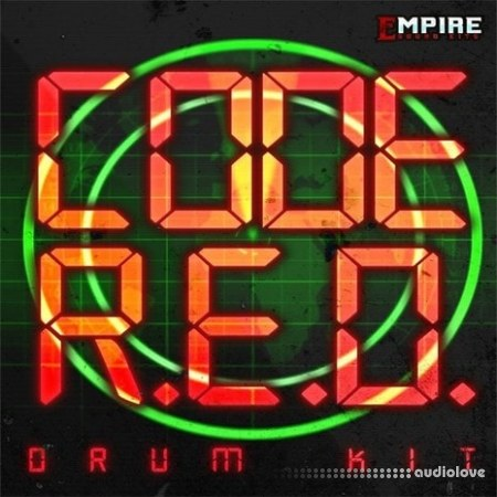 Empire Soundkits Code Red Drum Kit WAV MiDi