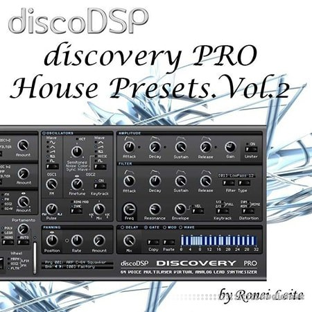 Ronei Music discoDSP Discovery Pro House Presets Vol.2 Synth Presets