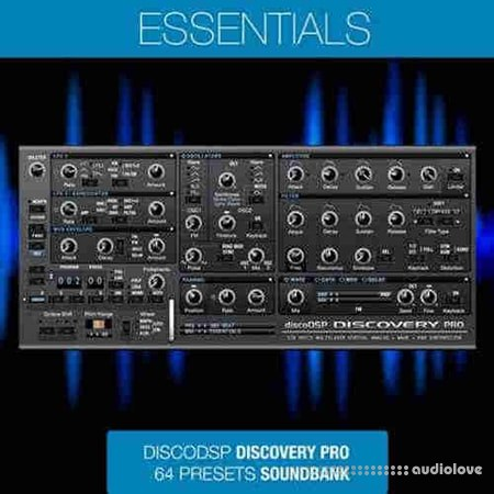 discoDSP George Reales Essentials Synth Presets