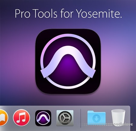 Avid Pro Tools v10.3.10 for Yosemite MacOSX