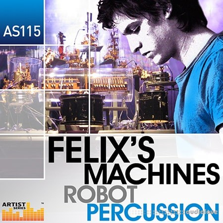 Loopmasters Felixs Machines Robot Percussion MULTiFORMAT