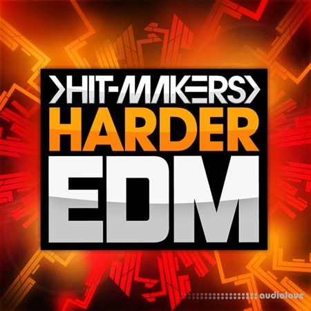 Hitmakers Harder EDM WAV MiDi Synth Presets
