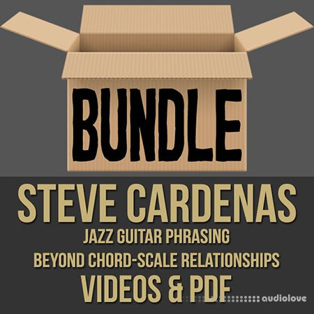 Steve Cardenas Guitar Masterclass Videos 1 2 & PDF Bundle TUTORiAL PDF