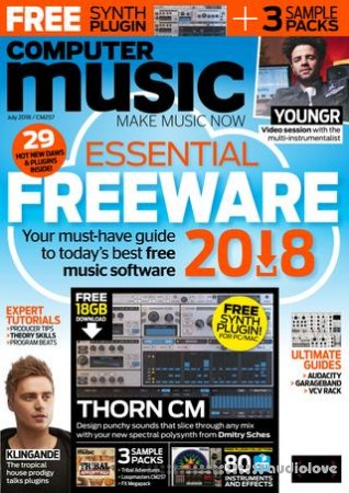 Computer Music Issue 257 July 2018 PDF