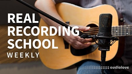 Lynda Real Recording School Weekly with Larry Crane TUTORiAL Updated 10/29/2018