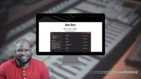 SkillShare Wix Course Build Your Own Website For Selling Beats Online TUTORiAL