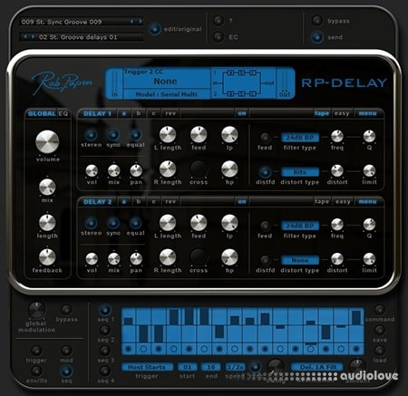 Rob Papen RP-Delay v1.0.2b MacOSX