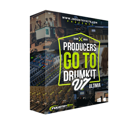 Industry Kits Producers GoTo DrumKit v7 ULTIMIA WAV MiDi