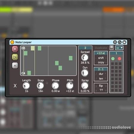 Isotonik Studios NOTE LOOPER Max for Live