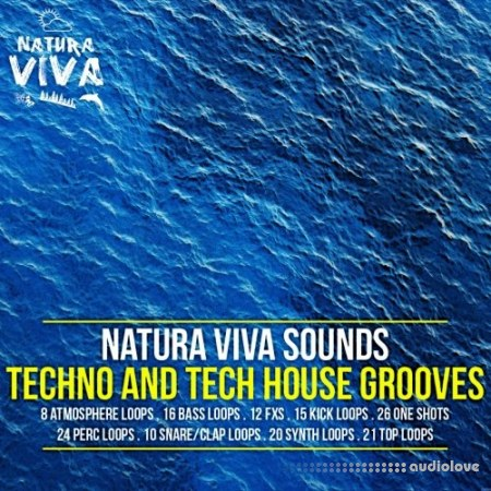 Natura Viva Sounds Techno and Tech House Grooves WAV