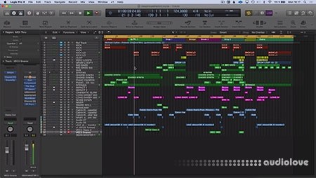 SkillShare Music Production Create Deep House Remix in Logic Pro X TUTORiAL