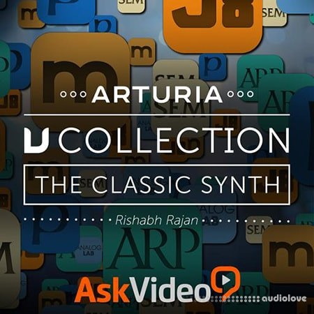 Ask Video Arturia V Collection 101 The Classic Synths TUTORiAL