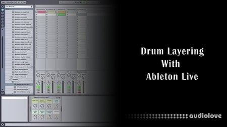 SkillShare Drum Layering With Ableton Live TUTORiAL