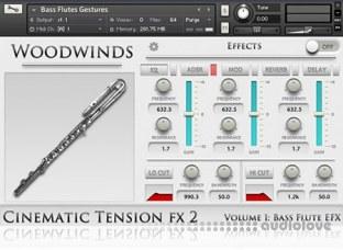 Cinematic Tension FX2 Vol.1 Bass Flutes