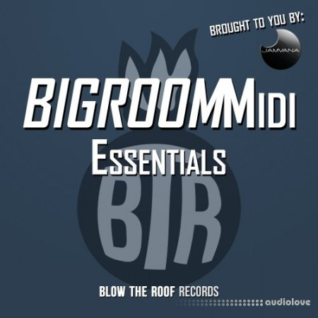 Jamvana Bigroom Midi Essentials WAV MiDi