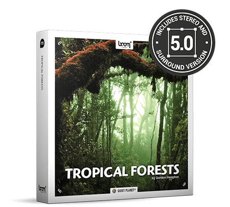 Boom Library Tropical Forests WAV