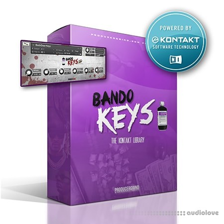 Producer Grind The Bando Keys Premium KONTAKT