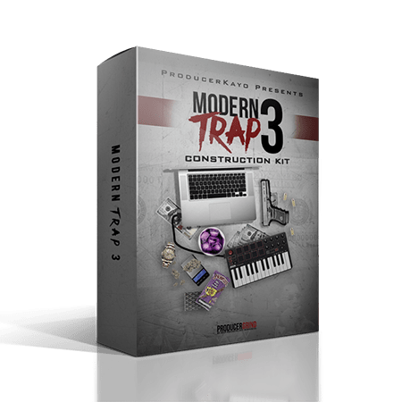 "Producer Grind The ""Modern Trap"" Construction Kit Part 3 WAV MiDi"