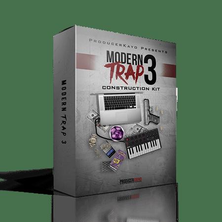 "Producer Grind The ""Modern Trap"" Construction Kit Part 3 WAV MiDi"