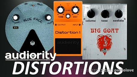 Audiority Pedalboard Distortions v1.0.0 WiN MacOSX