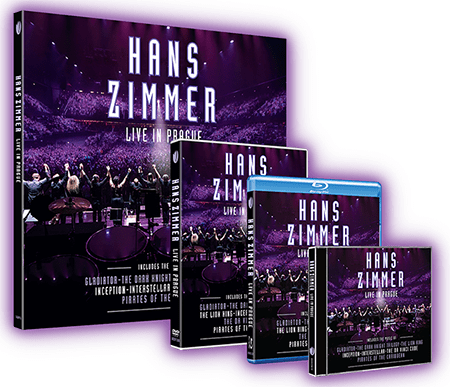 Hans Zimmer Live in Prague TUTORiAL Bluray