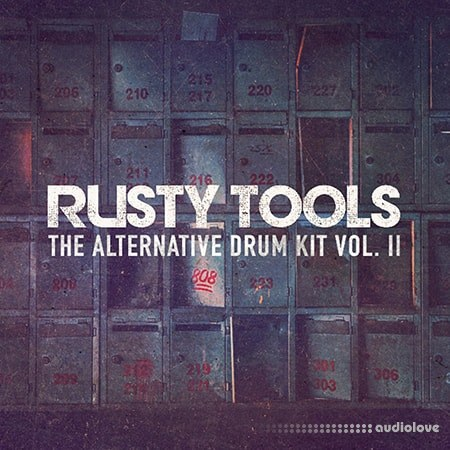 Industry Kits Rusty Tools DrumKit V2 WAV