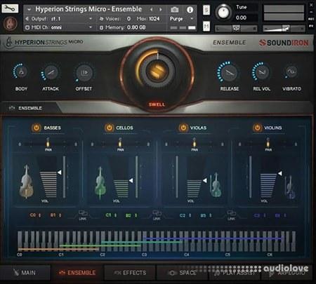 Soundiron Hyperion Strings Micro KONTAKT