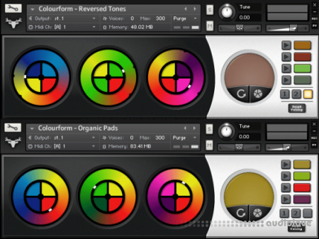FrozenPlain Colourform v2.0 KONTAKT