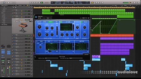 SkillShare Audio Production Pryda Style in Logic Pro X TUTORiAL