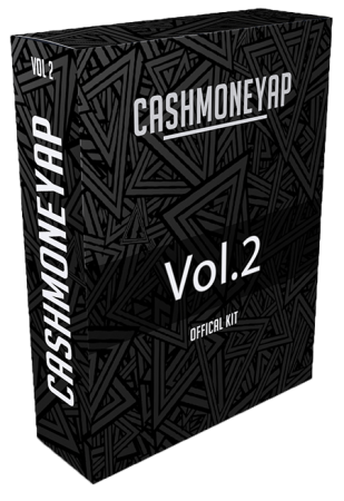 Cash Money AP Official Drum Kit Vol.2 WAV