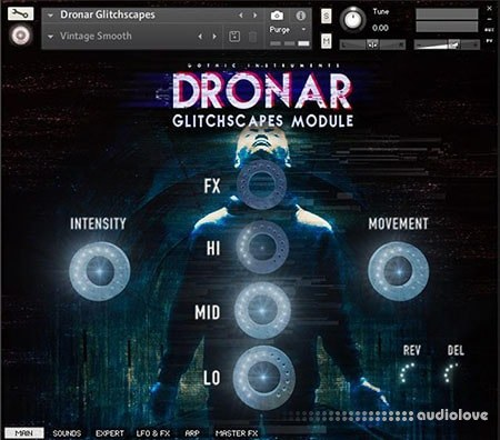 Gothic Instruments DRONAR Glitchscapes