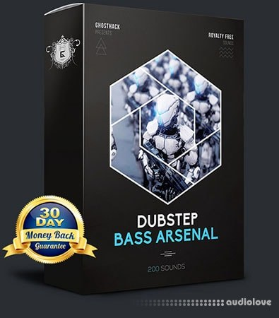 Ghosthack Dubstep Bass Arsenal WAV