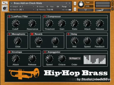 StudioLinkedVST Hip-Hop Brass KONTAKT
