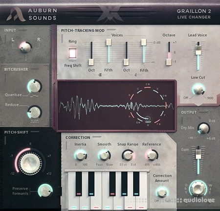 Auburn Sounds Graillon v2.1 WiN MacOSX