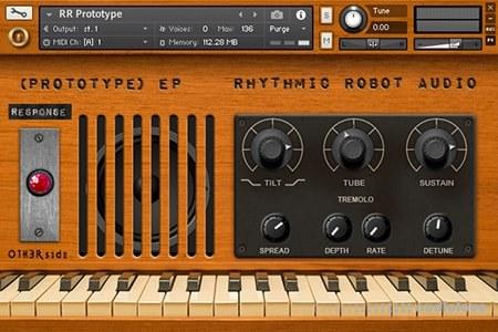 Rhythmic Robot Prototype EP KONTAKT